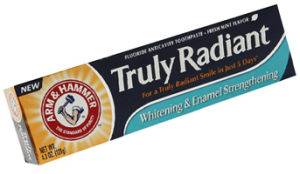 Arm and Hammer Truly Radiant Toothpaste 300x174 Possible FREE Arm & Hammer Truly Radiant Toothpaste and Toothbrush