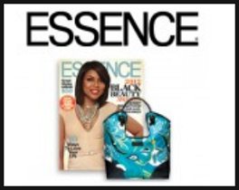 Essence Magazine and Tote