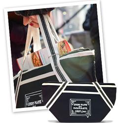 Lean Slate Lunch Tote Bag