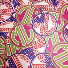 Amostras Marleylilly - Autocolantes - Marley-Lilly-Sticker-Set