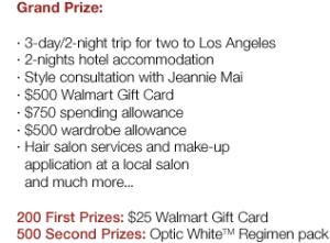 Prizes 300x221 FREE Colgate Regimen White Giveaway