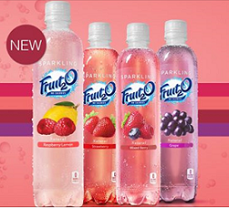Sparkling Fruit2O FREE Bottle of Sparkling Fruit2O Giveaway (13,500 Prizes)