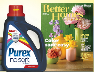 Better Homes and Gardens Magazine Subscription From Purex