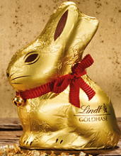 Lindt Gold Bunny Figures FREE Lindt Chocolate Gold Bunny at Lindt Chocolate Shops on April 4th