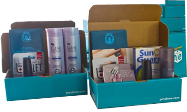 PINCHMe box FREE Samples From PINCHMe at Noon ET