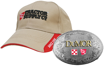 Tractor Supply hat or buckle FREE Belt Buckle or Hat and FREE Bag of Feed (4 H or FFA members)