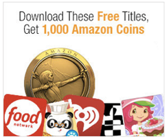 1000 FREE Amazon Coins 5 FREE Android App Downloads = 1,000 FREE Amazon Coins ($10 Value)