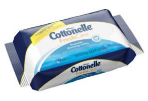 Cottonelle Flushable Cleansing Cloths FREE Cottonelle Flushable Cleansing Cloths 11 Count Sample Pack