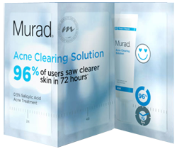 Murad Acne Clearing Solution FREE Murad Acne Clearing Solution Sample