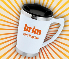 Brim Travel Mug FREE Brim Travel Mugs Giveaway