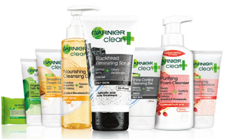 Garnier Clean Facewash FREE Garnier Clean+ Facewash Sample