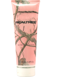 Amostras RealTreeBeauty - creme  para o corpo de 200ml - Realtree-for-Her-Body-Lotion