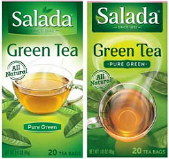 Salada Tea FREE Salada Tea Green Tea Sample