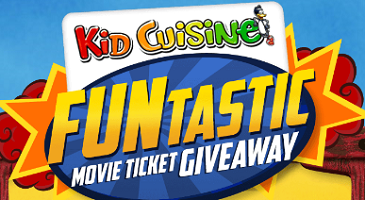 Movie Ticket Giveaway FREE Movie Ticket Giveaway From Kid Cuisine