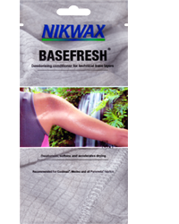 Nikwax BaseFresh Pouch FREE Nikwax BaseFresh or Waterproofing Wax for Leather Samples