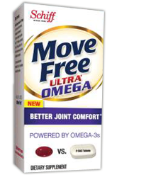 Schiff Move Free FREE Schiff Move Free Ultra Omega Dietary Supplement Sample