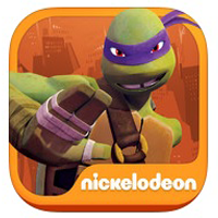 Teenage Mutant Ninja Turtles Rooftop Run 25 FREE Apps For iPhone, iPod Touch and iPad