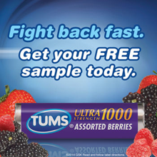 Tums Ultra Maximum Strength FREE Roll of TUMS Chewable Tablets for Costco Members