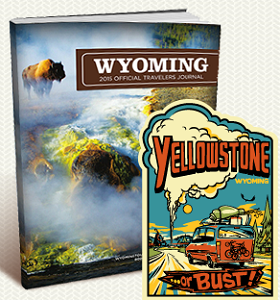 Yellowstone or Bust Sticker