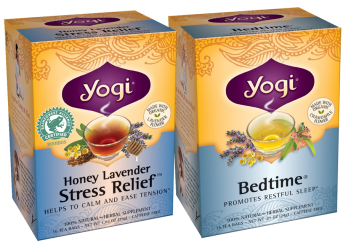 Yogi teas 2 FREE Yogi Tea Sample Packs