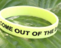 Come Out of the Dark Wristband