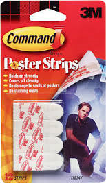 Command poster strips FREE Command Poster Strips