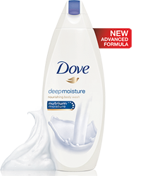 Dove Body Wash deep moisture FREE Dove Body Wash Sample (NEW)