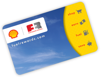 Fuel Rewards Network Card Shell Fuel Rewards Network   Save $0.25 a Gallon or More