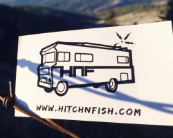 Hitch N Fish Sticker FREE Hitch 'N' Fish Sticker