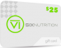 SIX Nutrition Gift Card