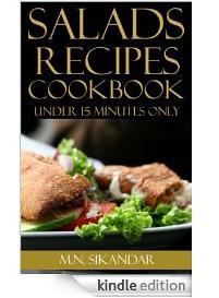 Salad Recipes 56 FREE Kindle eBook Downloads