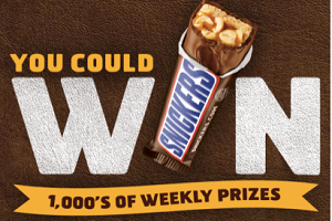 Snickers GAME FREE Xbox Live Gold Membership, EA NFL Game and Xbox Giveaway