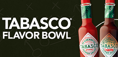 TABASCO House Party FREE TABASCO Flavor Bowl House Party (Apply)