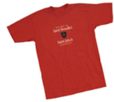 University TShirt FREE Saint John's University T Shirt for High School Students