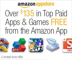 Amazon Free Apps 27 FREE Android Apps & Games ($135 Value)