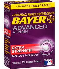 FREE Bayer Aspirin at Dollar T...