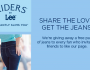 FREE Pair of Riders by Lee jeans