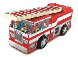 Fire Truck with Ladder FREE Fire Truck with Ladder Clinic For Kids at Lowes