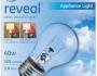 GE Reveal 40-Watt Appliance Light Bulbs