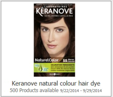 Keranove Natural Colour Hair Dye Possible FREE Keranove Natural Colour Hair Dye