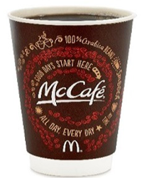 McCafe Coffee FREE McCafé Coffee at McDonald's on 9/16 9/29
