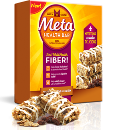 Metamucil Cinnamon Oatmeal Raisin Meta Health Bar FREE Metamucil Cinnamon Oatmeal Raisin Meta Health Bar