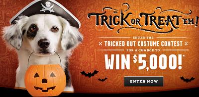 Milkbone Trick or Treat Halloween Milk Bone Trick or Treat Halloween Prize Pack Sweepstakes