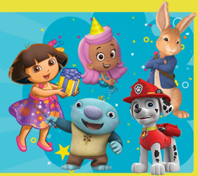 Nick Jr Characters FREE Birthday Phone Call from Nick Jr. Character