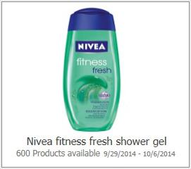 Nivea Fitness Fresh Shower Gel Possible FREE Nivea Fitness Fresh Shower Gel