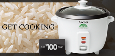 RiceSelect Rice Cooker FREE RiceSelect Rice Cooker Sweepstakes Giveaway