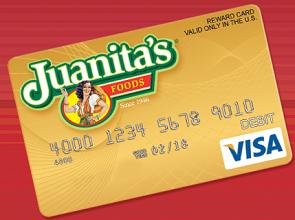 Visa Gift Card Juanita's Visa Gift Card Sweepstakes Giveaway