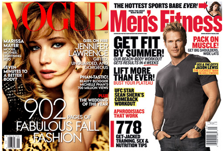 FREE Subscriptions to Vogue, Self, ESPN, Men's Fitness and