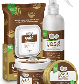 YES TO COCONUT FREE YES TO COCONUT Giveaway Sweepstakes