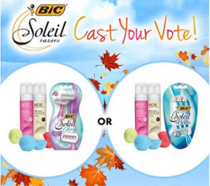 Bic Soleil Razor and Prizes Giveaway 300x265 Bic Soleil Razor and Prizes Giveaway Sweepstakes
